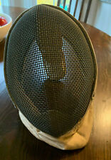 Vintage Santelli Fencing Mask with Neck Protector - Gently Used