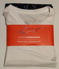 NEW Greg Norman Men's Premium V-Neck and Pants Lounge Set Size Large