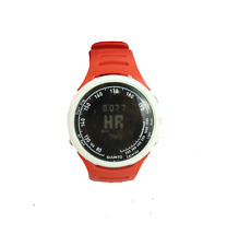Suunto T1 Fitness Training Heart Rate Monitor Running Jogging Watch Red White