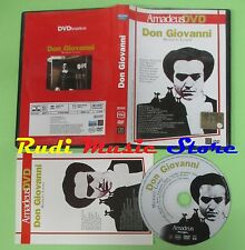DVD MOZART LOSEY Don giovanni 2004 AMADEUS DVD 176 minuti no mc lp vhs cd(DM1)