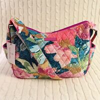Vera Bradley On The Go Crossbody Purse Superbloom Pink Quilted NWT MSRP $70