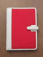 COACH Red & white PHOTO-PICTURE Holder Gently Pre-Owned
