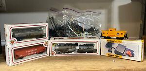 BACHMANN HO SCALE LOCOMOTIVE ENGINE NO, 4441  TRAIN SET EXCELLENT CONDITION