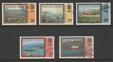 Falkland Is.Deps 1985 Definitives set SG 148-152 Fine used.