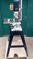 Morticer. Axminster Power Tools. Floor standing. Comes with 4 chisels.240v.