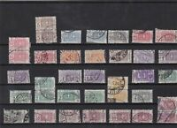 italy 1914 high cat value parcel post stamps ref 11823