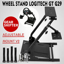 Racing Simulator Steering Wheel Stand Logitech G29 Thrustmaster shifter PRO V2