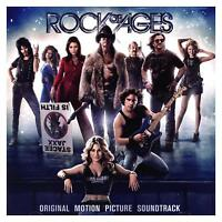ROCK OF AGES - SOUNDTRACK CD ~ RUSSELL BRAND~TOM CRUISE~ALEC BALDWIN*NEW*
