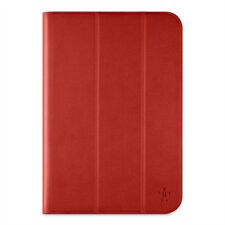 Belkin Universal Tri-fold Folio Cover Case & Stand for iPad 4 3 2 1 Red