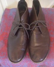 JUMP J75 Sz 10 Brown Leather Two Eye Lace up M'ens Shoes Boots