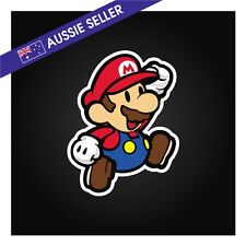 Mario Sticker - Suit JDM Drift Car Truck Jap Window Toolbox Wall * 90mm x 115mm*