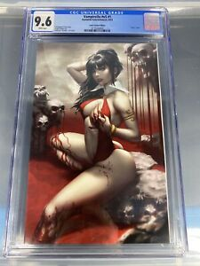 Vampirella #v5 #1 CGC 9.6 Paper Asylum Virgin Exclusive Beautiful Book!!