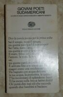 ROBLES E BONETTI - GIOVANI POETI SUDAMERICANI - ED: EINAUDI - ANNO: 1972 (A15)
