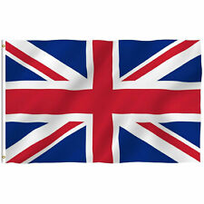 British Union Flag Jack United Kingdom UK Great Britain Flag 3x5 FT Banner