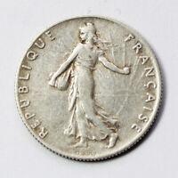 Pièce Argent France 50 centimes Semeuse 1916