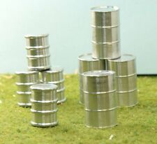 Metal Barrel Set - O GA - Milled Aluminum - 32 Pcs - Extreme Detail!