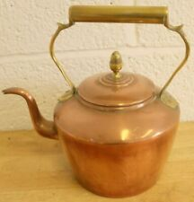 Vintage Copper Kettle With Brass Handles (Hospiscare)