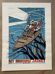 My Morning Jacket 2011 Dallas Poster / Verizon Theatre / Rare