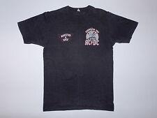 Vtg Original AC/DC Donington Park Tour Concert Shirt 1981 D-DAY Monsters of Rock