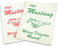 Mustang Electrical Wiring Diagram Manual 1965 65 Coupe Convertible Fastback 289