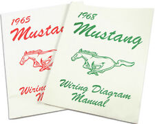Mustang Electrical Wiring Diagram Manual 1966 66 Coupe Convertible Fastback 289