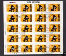 1988 verhuiszegelvelletje van 20 luxe gebruikt