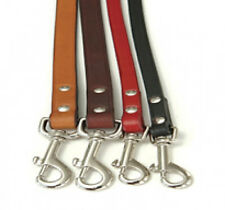 "Auburn Leathercrafters QUALITY Leather ""Town Leads"" Dog Leashes 2 Lengths"