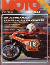MOTO JOURNAL  182 YAMAHA PMS TZ 250 350 JAPAUTO Bol d'Or Alain PRIEUR 1974