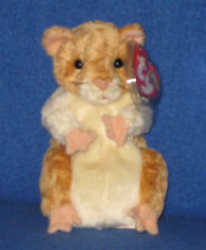 TY PELLET the HAMSTER BEANIE BABY - MINT with MINT TAGS