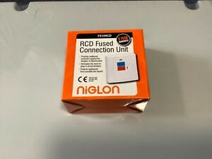 Niglon FS13RCD RCD Spur Connection Unit 13A 30mA Fused Trip Switch