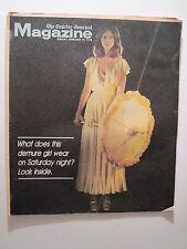 Louisville Courier Journal Magazine. 1977: Discomania! Mexico Bullfighting!