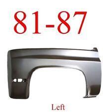 81 87 Chevy Left Front Fender, Truck, Suburban, Blazer, Assembly 0851-005