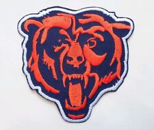 """Chicago Bears Embroidered 3 1/4"""" Iron On Patch"""