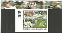 GB Presentation Pack M12 2005 Cricket. The Ashes England winners