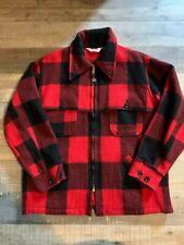 Vintage Woolrich Buffalo Plaid Hunting Jacket Size Large Wpl 6635