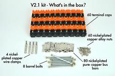 NEW! Vruzend V2.1 DIY Solderless 18650 Battery Holder No Spot Weld Colour Coded