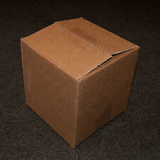 "Pack of 25 - 6"" Cube (6x6x6"") Single Wall Mailing Cardboard Packing Postal Boxes"