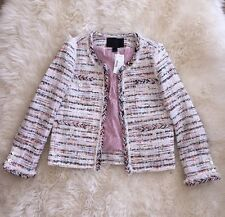 JCREW COLLECTION French Tweed Jacket Blazer F1590 Sz 2 CURRENT! SOLDOUT!
