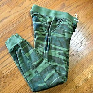 Alternative Earth Womens Joggers Size XS Extra Small Camo Sweatpants