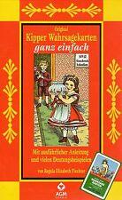 KIPPER-WAHRSAGEKARTEN GANZ EINFACH - Regula Elizabeth Fiechter KARTEN & BUCH SET
