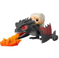 Funko Pop Game of Throne Daenerys on Fiery Drogon #68