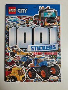 Lego - City - 1001 Stickers, lego sticker book new free p&p
