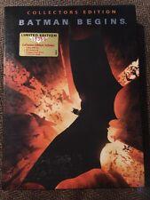 Batman Begins (DVD, 2005, 2-Disc Set) Collectors Edition Number 08369 Region 4