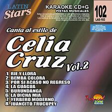 Karaoke Latin Stars 102 Celia Cruz Vol.2