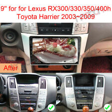 "9"" Android 9.0 Car GPS Stereo NAVI for Lexus RX300/330/350/400h Toyota Harrier"