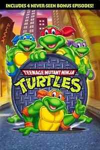 Teenage Mutant Ninja Turtles Original Cartoon 1987 Series TV Show Season 1 DVD