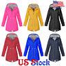 Women's Solid Forest Jacket Raincoat Wind Jacket Outdoor Waterproof Coat Outwear