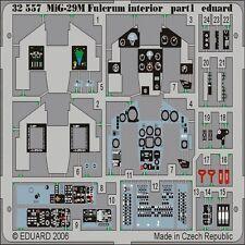 EDUARD MODELS 1/32 Aircraft- Mig29M Fulcrum Interior for TSM (Painted) EDU32557