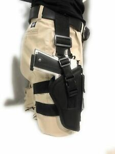 """Tactical gun holster for Desert Eagle 357Mag,.44 Mag,.50 AE With 6"""" Barrel (RH)"""
