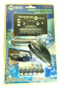 Miyota 2006 PORTABLE VCD PLAYER /MP3 CD/MD CAR ADAPTER KIT NEW